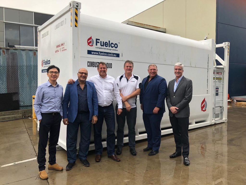 Image from: Fuelco and SMARTank & Refuelling Meeting – 11 January 2018 Melbourne, Australia